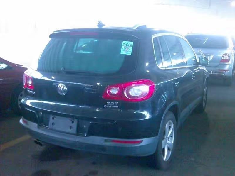 二手车 2010 Volkswagen Tiguan 4mtion 里程65k,价格1万出头!
