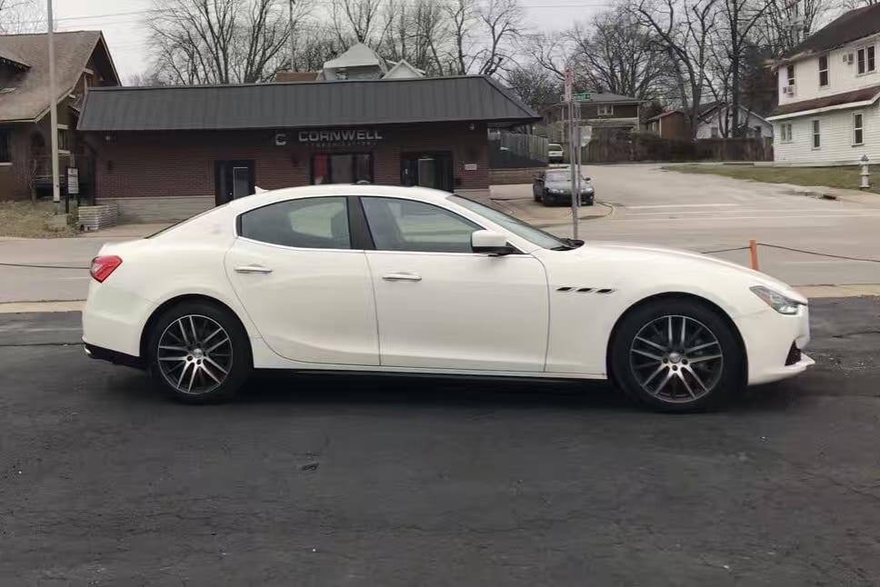 情人节最好的礼物:2014 Maserati Ghibli,里程2w,价格4万出头一私人车你懂的!