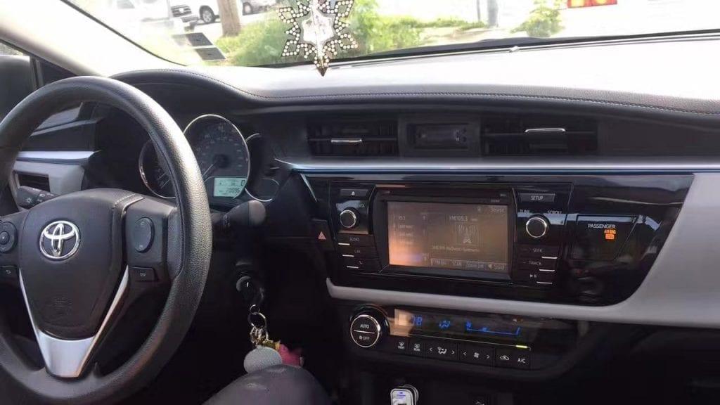 美国 买车 信用卡 2015 Toyota Corolla LE,跑了2wmiles,车况