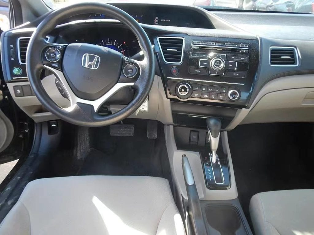买车发票 2013 Honda Civic,里程55k,价格1w出头,