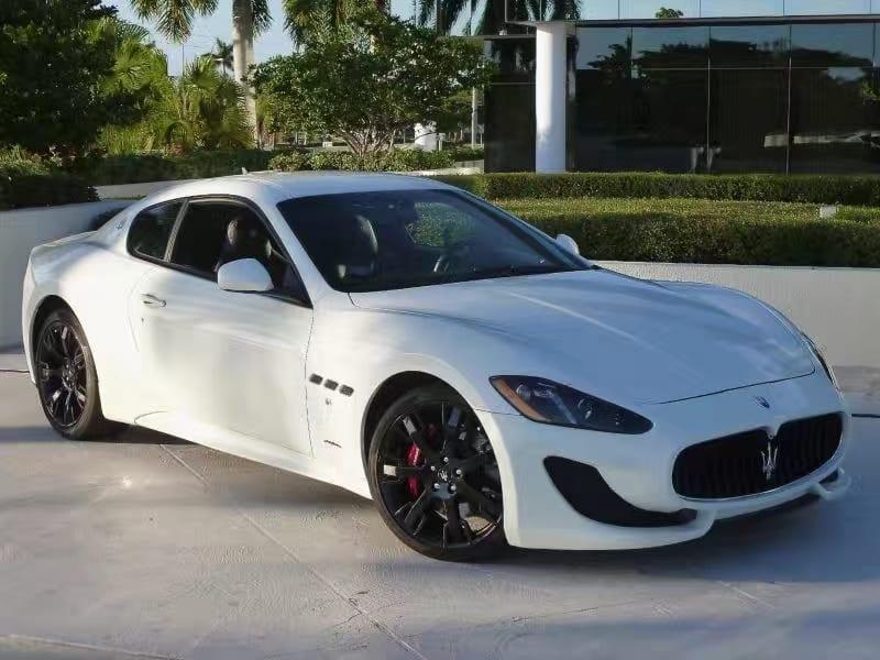 美国二手车检查 013 Maserati GTMC,里程1W9,预算7w左右即可拥有