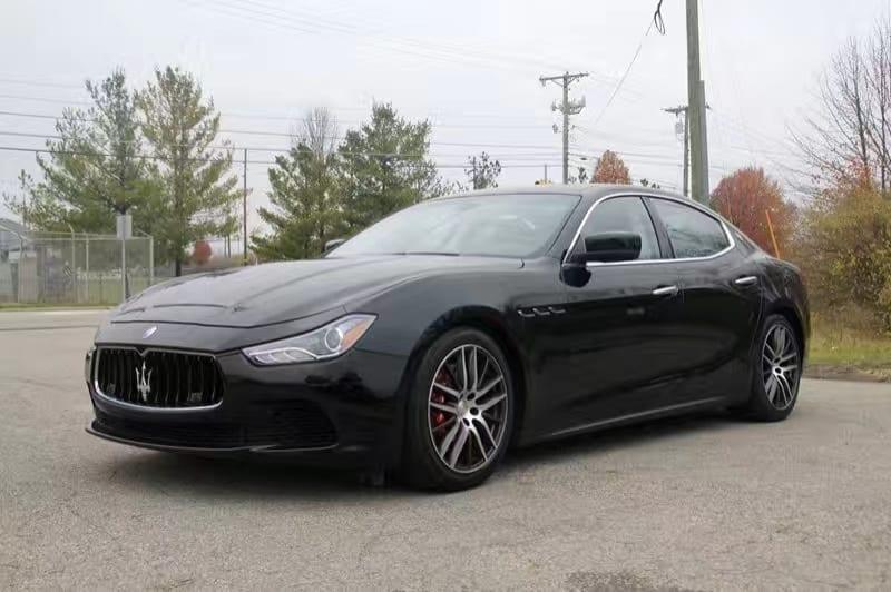 买车上会 又来一台狠货 2014 Maserati Ghibli SQ4。