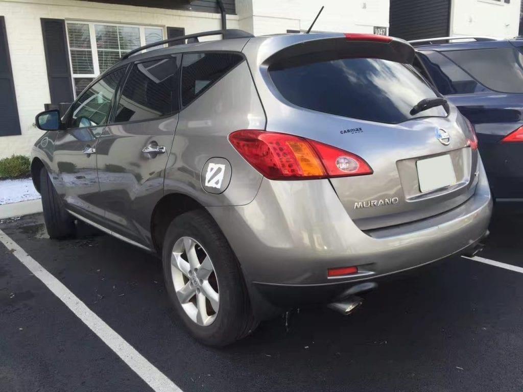 美国二手车出口 2009 Nissan Murano,价格便宜。