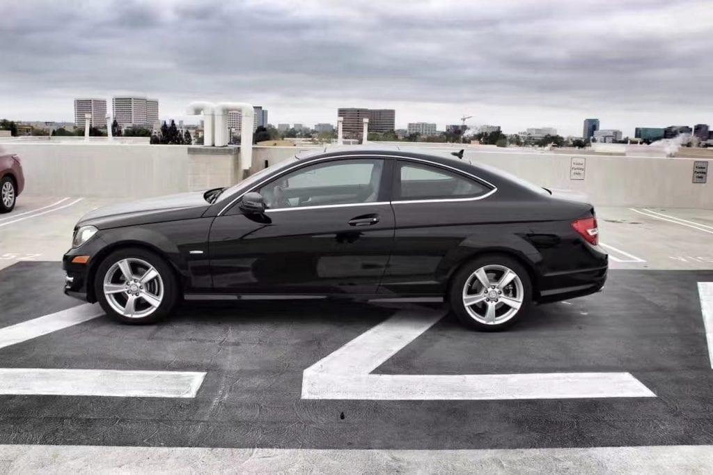 美国二手车牌照 二手 MIMichigan密歇根(密执安)州 兰辛 lansing Mercedes-Benz 奔驰