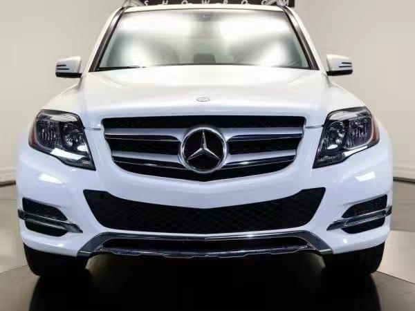 美国二手车车检 2014 Mercedes GLK350,仿G系设计,里程仅36k