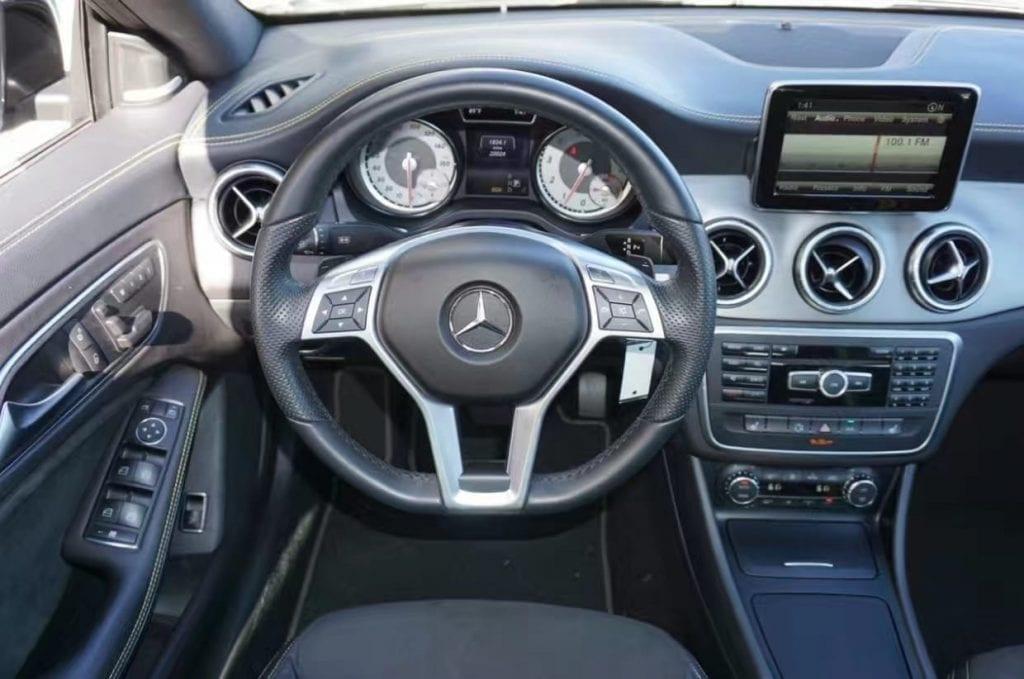 美国二手车软件 2014 CLA250 4matic-Edition1,四驱 限量,里程仅仅24k