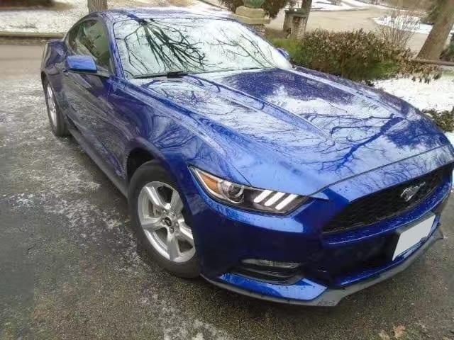美国二手车上牌 2015 Ford mustang,里程:23xxx,