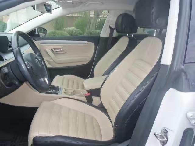 买车全额贷款条件 2013 Volkswagen CC sports plus。真皮运动座椅