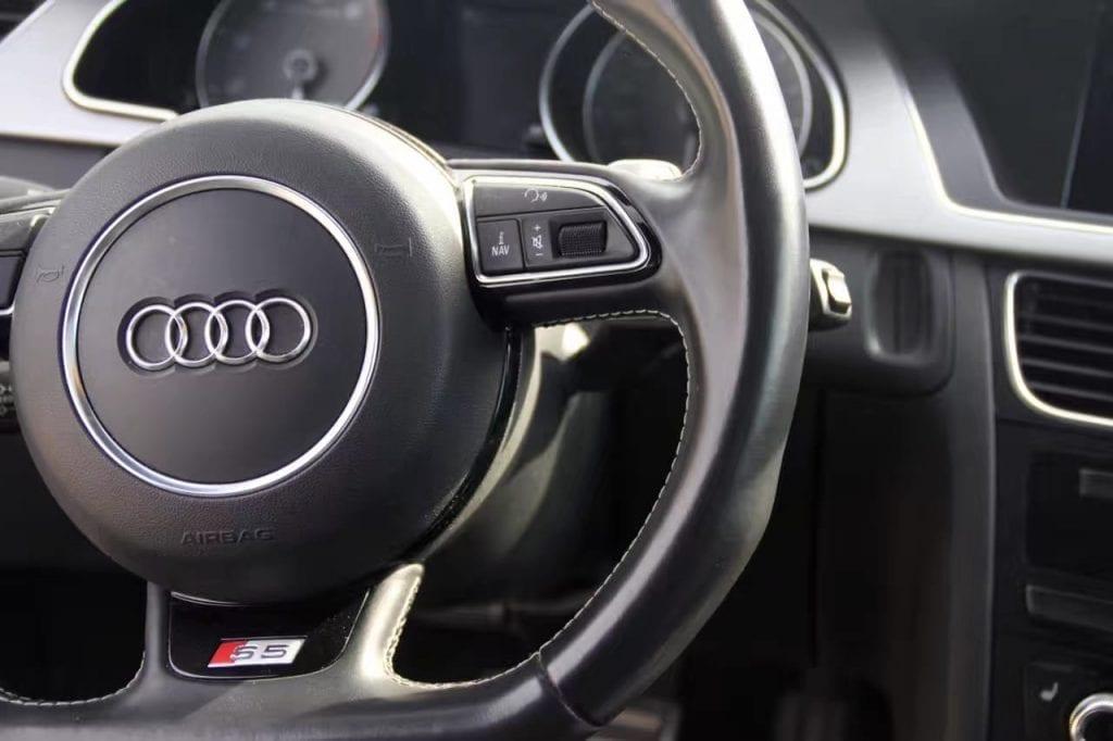 美国 二手车 ptt 2013 Audi S5 prestige 银耳  花小钱装大逼