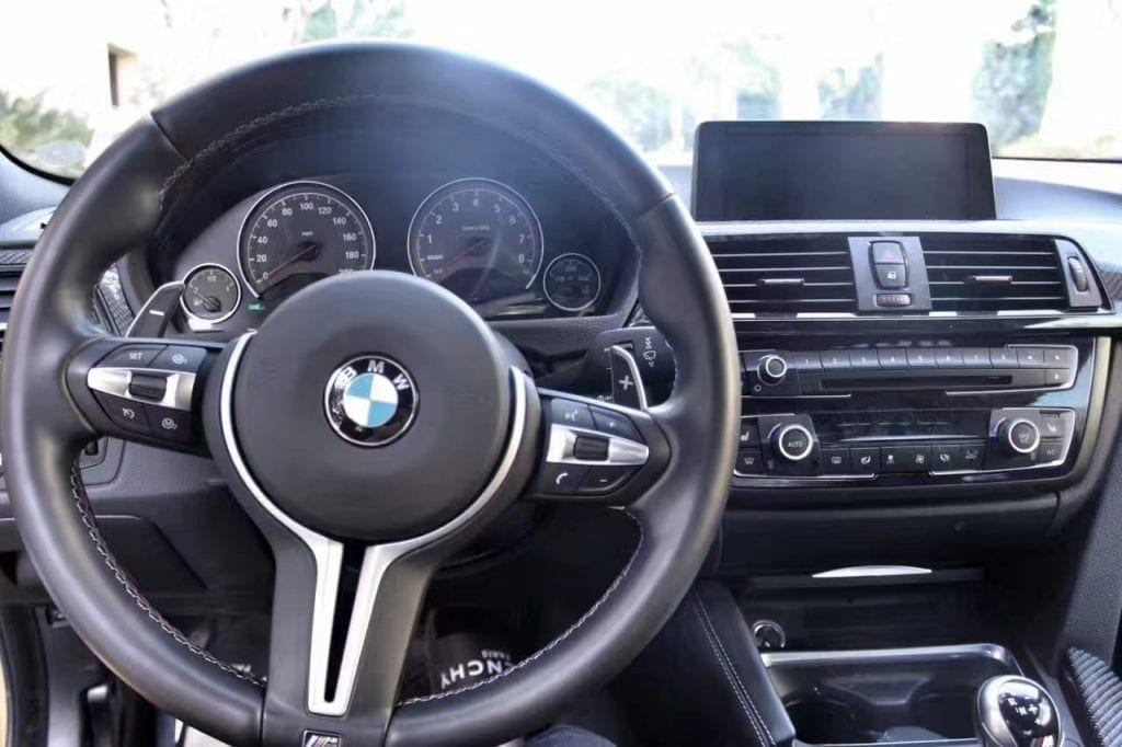 美国二手车mechanical check 2015 BMW M4 导航 座椅加热 蓝牙音乐