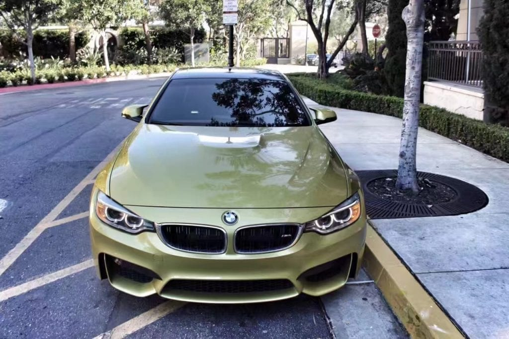 美国买车 消费税 2015 BMW M4 导航 座椅加热 蓝牙音乐 电话