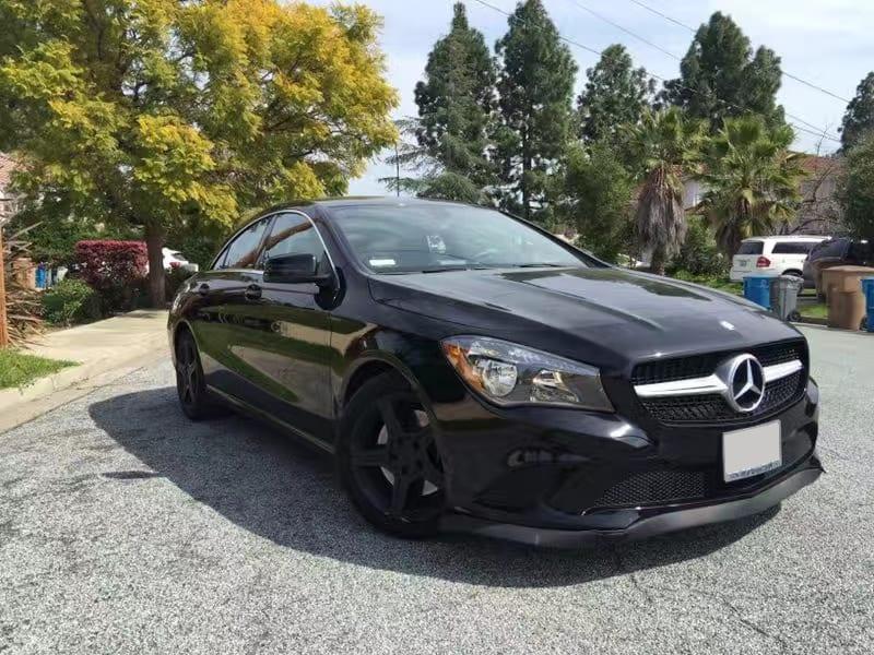 买车如何节税 2014 CLA250,黑色系版,车况4.8/5,奔驰cpo认证车