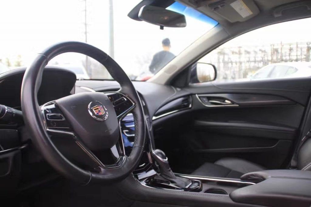 二手车出售 2014 ATS-4,最关键是四驱,跑起来稳的一比