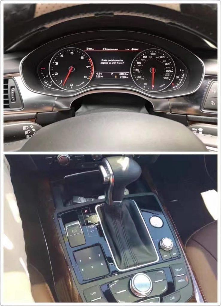 二手车altis 2013 Audi A7, 里程3w多点,价格3万,私人车你懂的