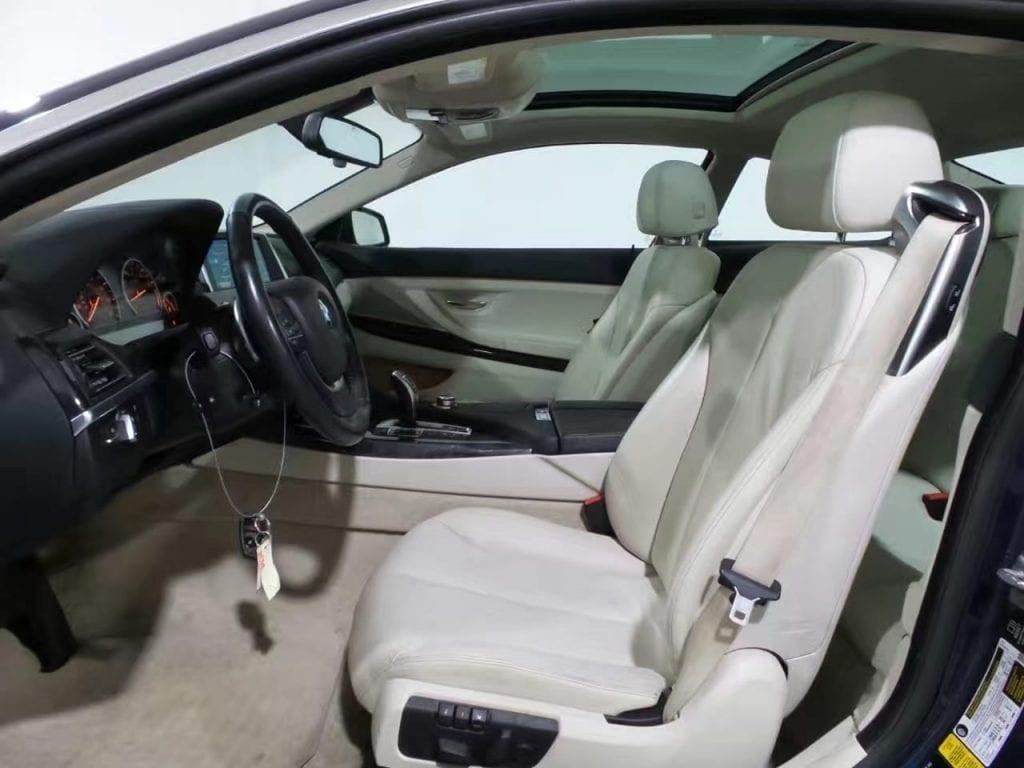 二手车比较 2014 bmw 640i Xdrive,双尾排 四驱 氙灯 价格3打头。