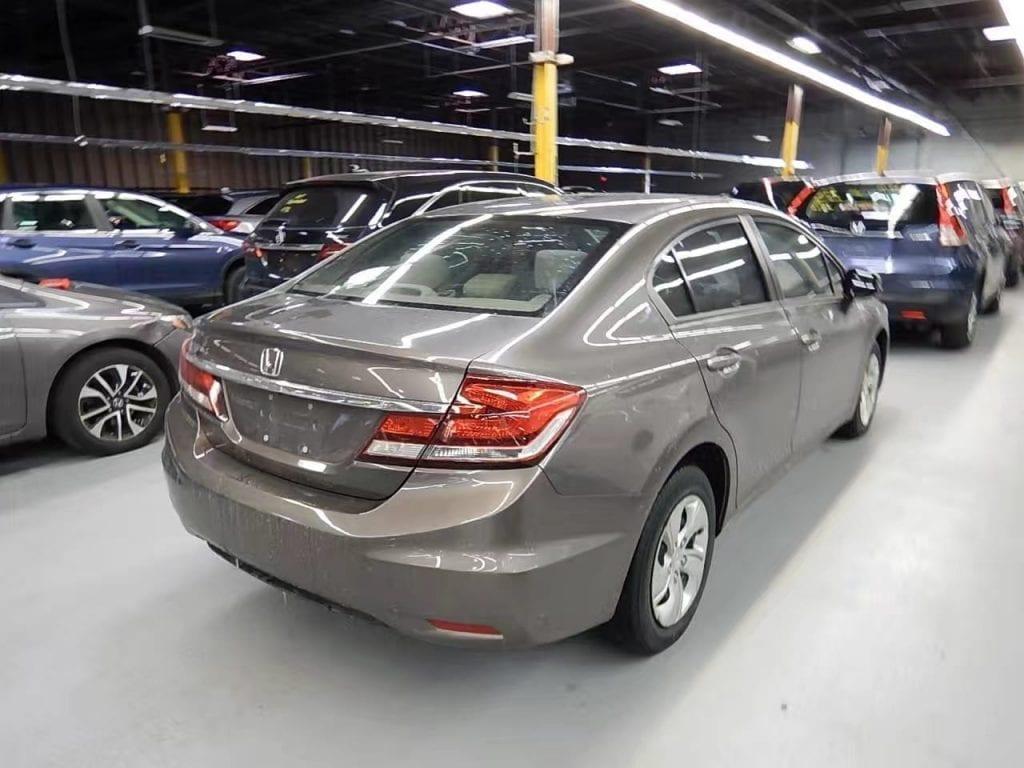 美国二手车攻略 2013 Honda Civic,里程45k,价格1w出头