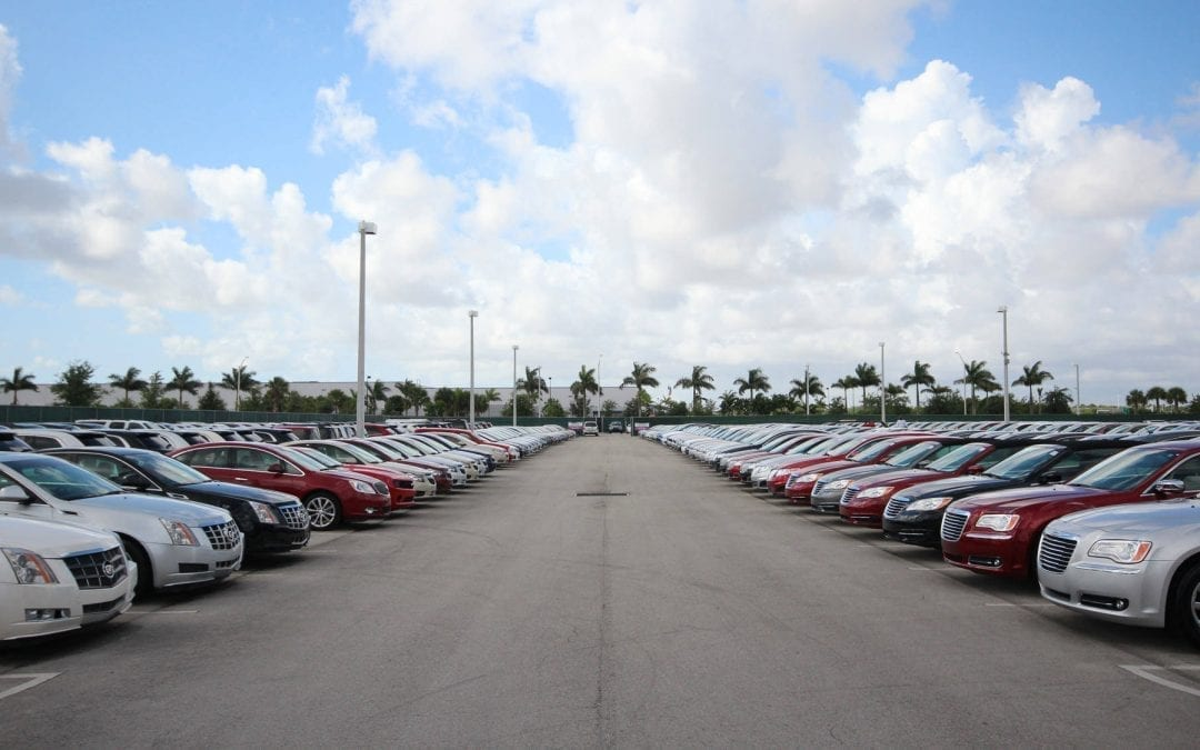 Why do second-hand car transactions require middlemen?