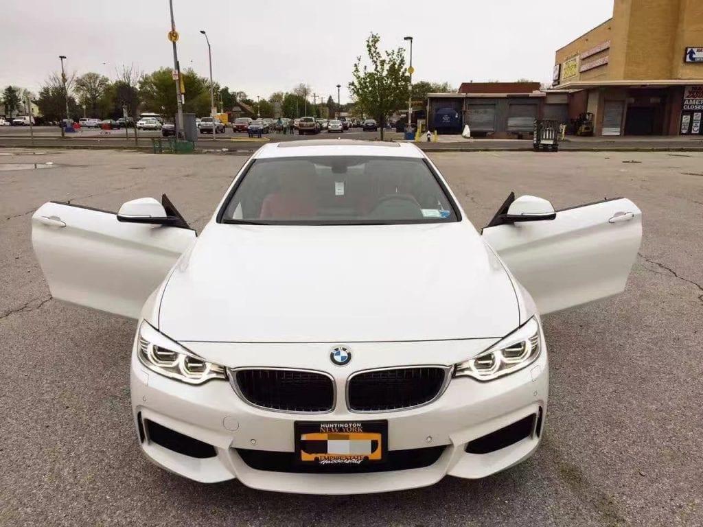 美国二手车inspection 2014 bmw 435i Xdrive,氙气大灯