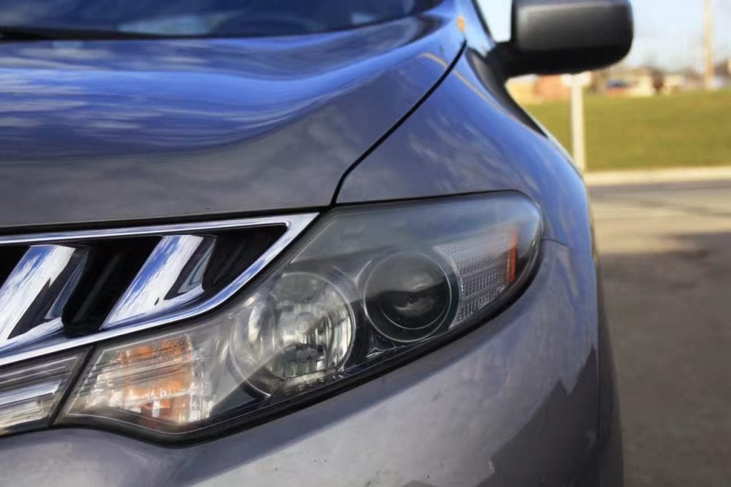 美国二手车title 2009 Nissan Murano AWD S。内饰干净