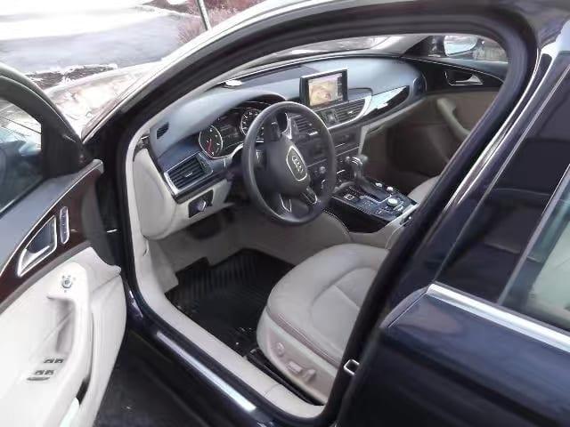 美国二手车贷款利率 2014 Audi A6 quattro,四轮驱动。里程:28k