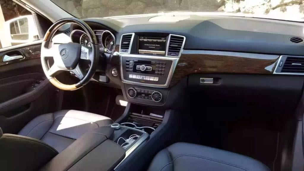 美国二手车税 2013年 ML350 4matic 4驱版本 2万9迈 导航倒车座椅加热