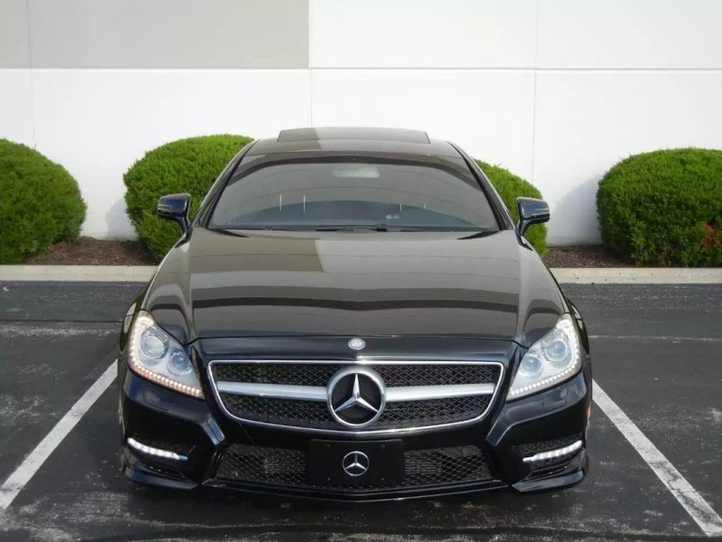 二手车利率 2012 Mercedes CLS550 4matic,四轮驱动,