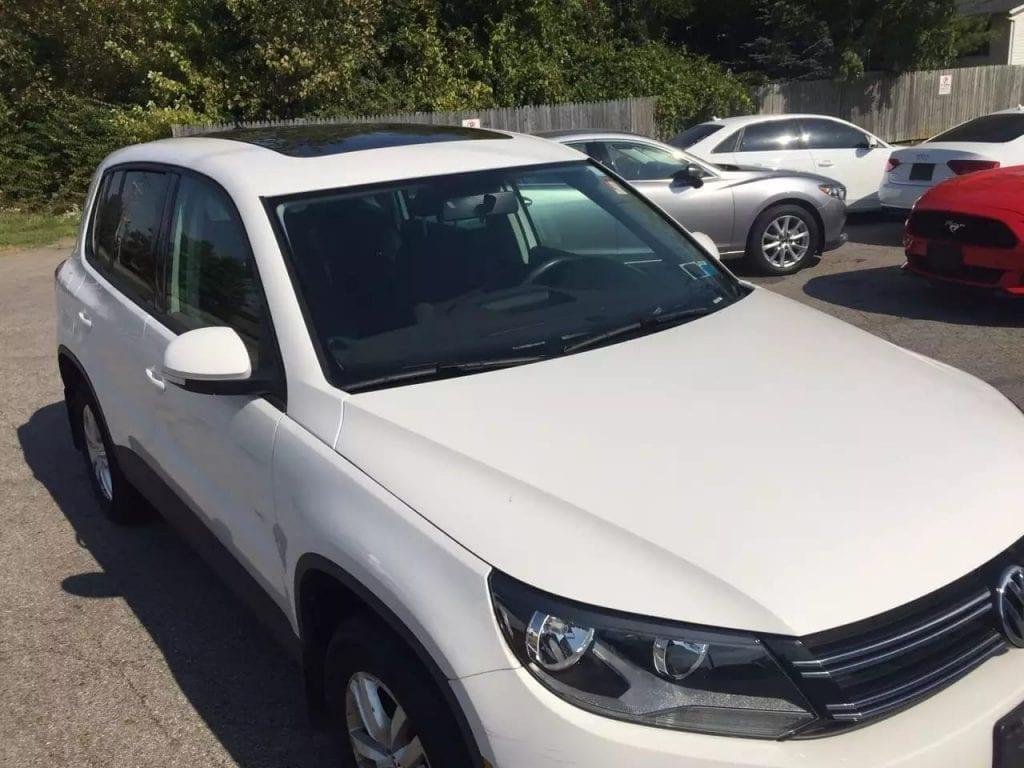 美国买车要交多少税 2013 大众Tiguan 4motion,快来抢购!大天窗