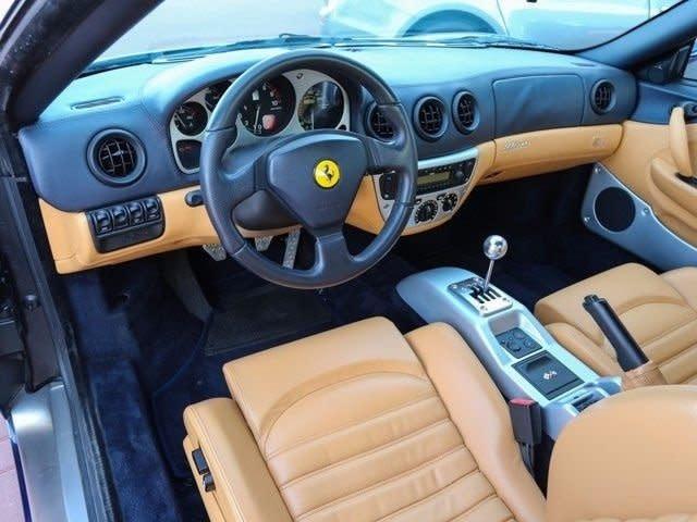 买车推荐品牌 Used 2001 Ferrari 360 Modena Spider Car