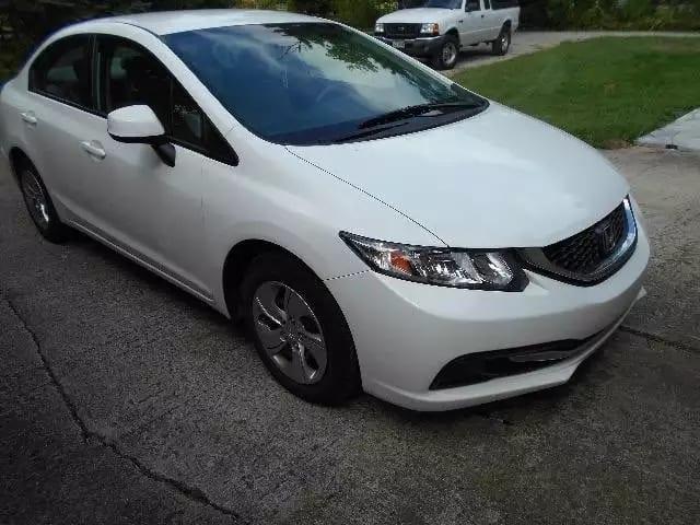 美国买车带回中国 2013 Honda Civic lx,里程:45k,价格:1打头。代步神器。