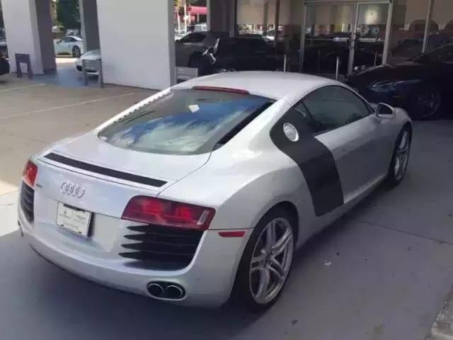 美国买车如何砍价 2008奥迪R8,四驱~ 让你一装就是一年四季!里程19k