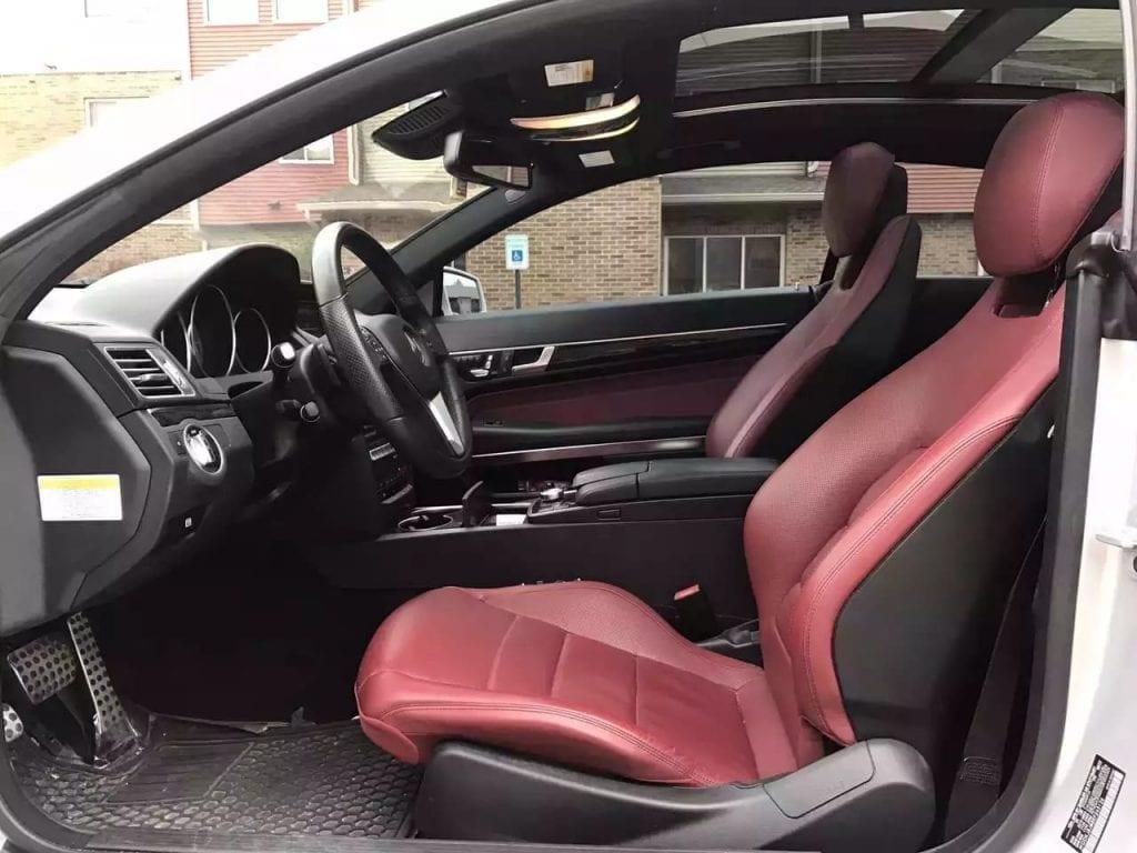 美国买车回国 2014 Mercedes Benz E Class Coupe 4 Matic,37300mile