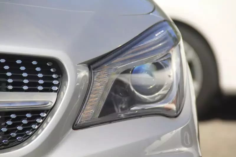 美国买车上牌照 晚上回头率 2014 CLA250,AMG五角星 轮毂 里程:33k