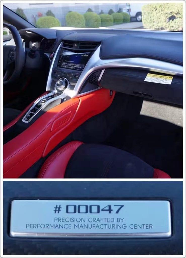 买车评估表 2017  全新 NSX 第#47辆 本田攒了N年的大招 0-60