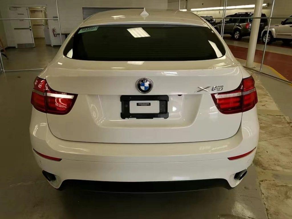 买车ptt 运动型SUV,2014 BMW x6,里程27k,白外红内,
