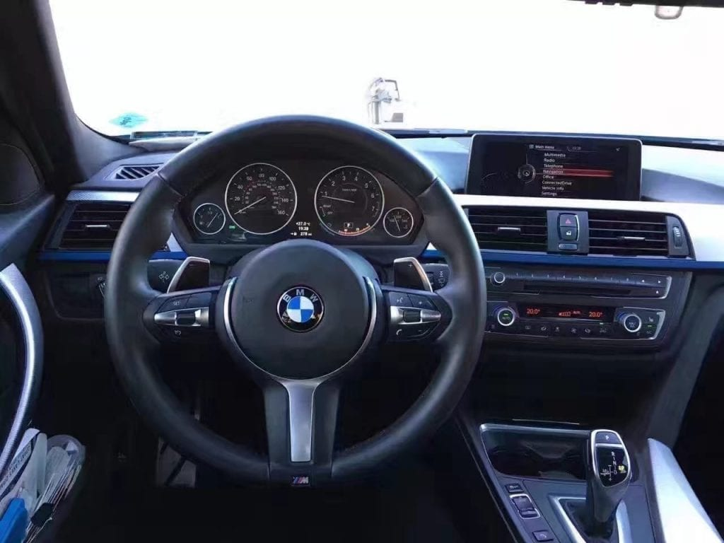 二手车检查 2014年宝马335i xDrive M sport 里程5w8迈