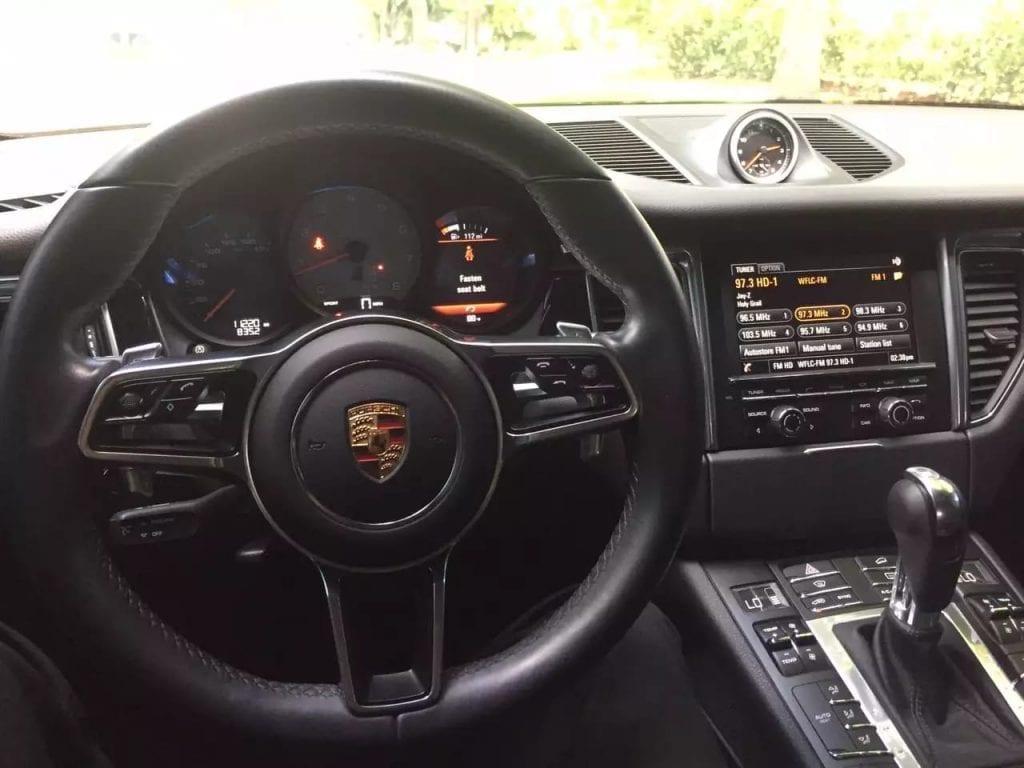 二手车app推荐 2016 Porsche Macan S,配置如图,几千喜欢咨询。
