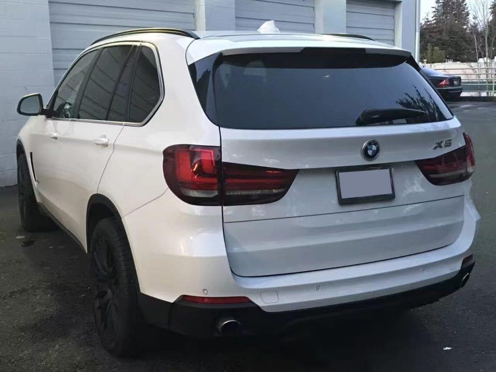 二手车价格 2015 Bmw X5 xdrive,白色黑内饰,4w不到还能免税