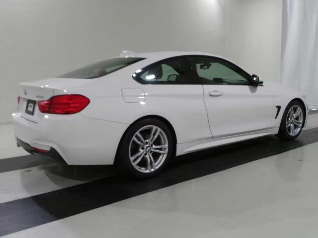 时下最美丽的白外红内配色,2014 BMW 428ix M套件,里程:24k,价格 打头。车况一流欢迎选购。
