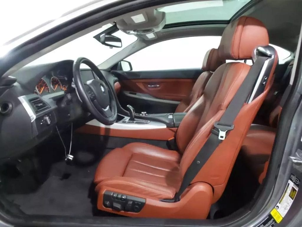 二手车利润都收多少  2014宝马640i,骚红的Fine Nappa leather 高级座椅!