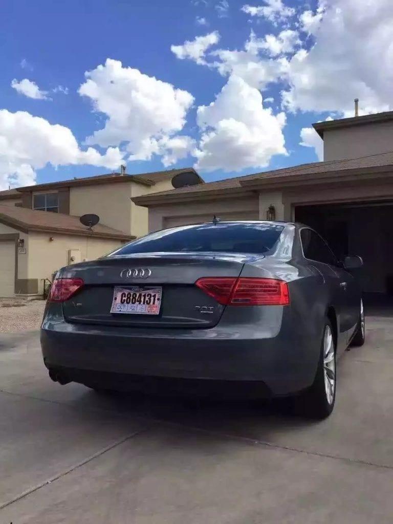 二手车过户费 2013 Audi A5,四驱quattro系统,里程:37k,倒车影像