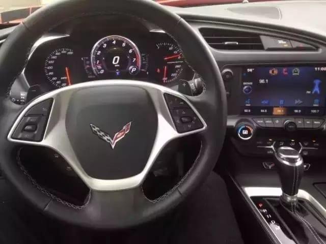 美国买车 查vin 2015雪弗兰克尔维特1LT,准新车 仅仅跑了不到1000迈!
