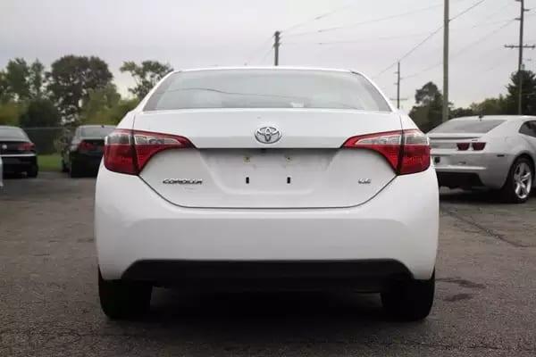 美国买车开回加拿大 2014 Toyota corolla,新款,新外形,新内饰,新配置