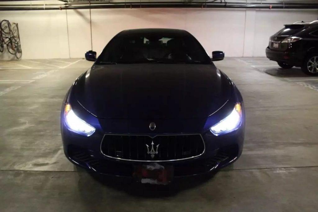 美国买车首付 2014 Maserati SQ4 法拉利同款金属换挡拨片