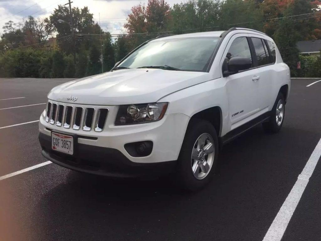 美国买车需要ssn吗 2015 准新车jeep compass,jeep迷可以动手了