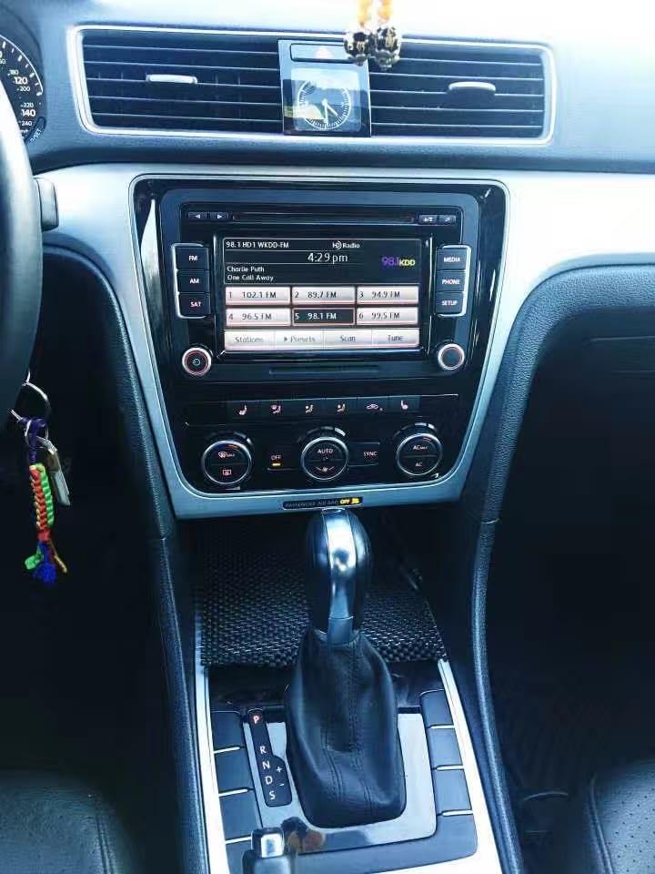买车title怎么填 2012款Volkswagen 帕萨特,里程42k。车内空间和后备箱空间都超大