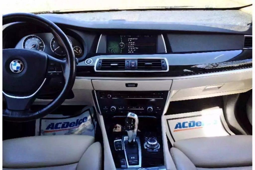 美国买车交多少税 2010 BMW 550GT,强大动力,舒适豪华,里程65k