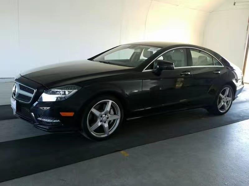 买车容易养车难 2012 CLS550 amg轮毂,电尾门,卫星导航,无钥匙启动,座椅按摩