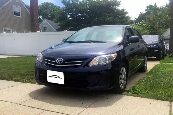 二手车便宜 2013 Toyota corolla LE,车况新,价格好,无事故。里程:46k