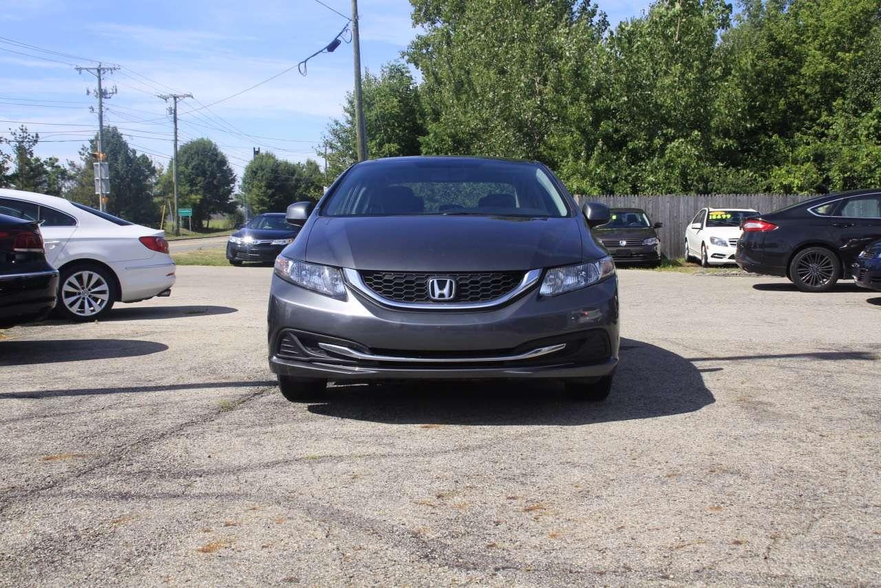 二手车v40 2013 Honda civic lx,价廉物美,里程仅:49k,倒车影像
