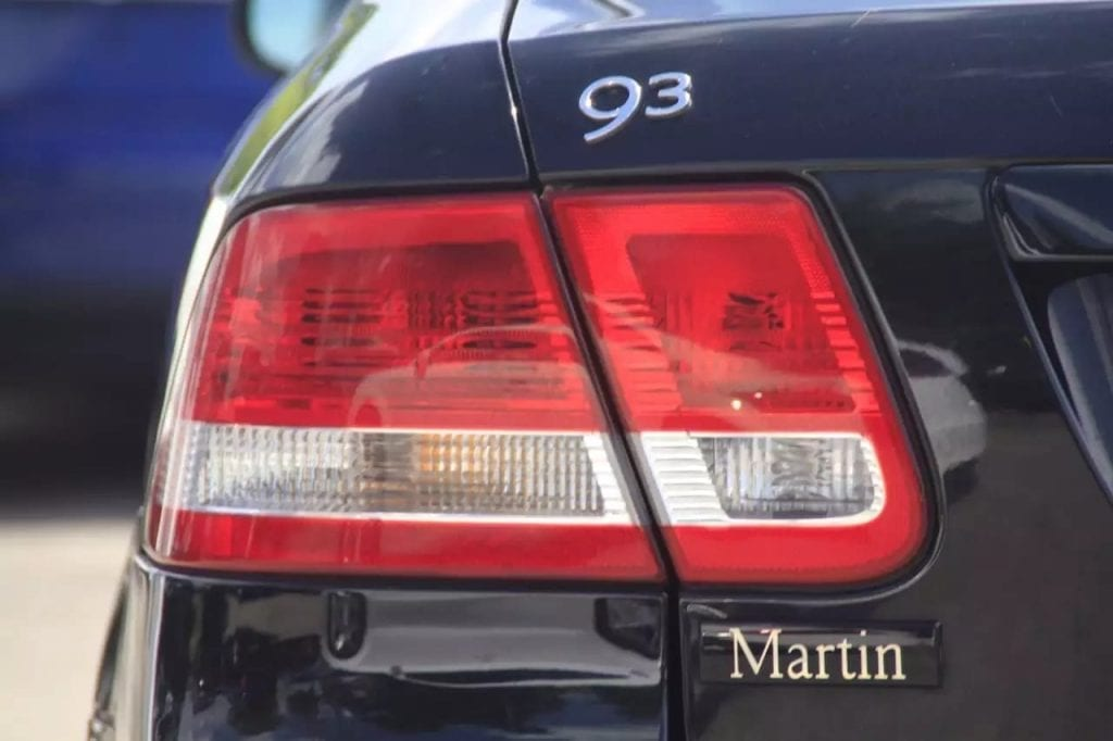 golf r二手车 2004 Saab 9-3,皮座椅,自动大灯,天窗,享受瑞典的高级车待遇